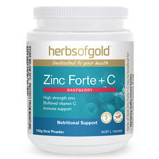 Herbs of Gold Zinc Forte + C