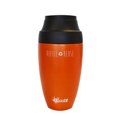Cheeki 350ml Coffee Mug - Orange