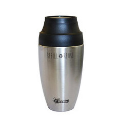 Cheeki 350ml Coffee Mug - Silver
