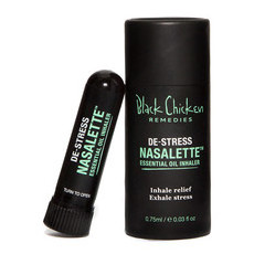 Black Chicken Remedies Nasalette™ Essential Oil Inhaler - De-Stress