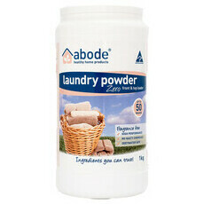 Abode Front & Top Loader Laundry Powder - Zero
