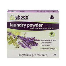 Abode Top Loader Laundry Powder - Lavender & Mint