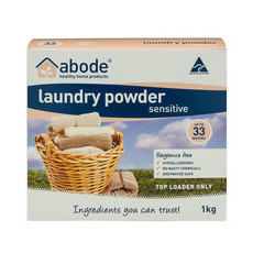 Abode Top Loader Laundry Powder - Sensitive