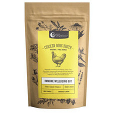 Nutra Organics Chicken Bone Broth Powder - Turmeric