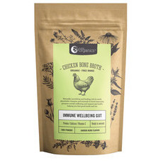 Nutra Organics Chicken Bone Broth Powder - Garden Herb