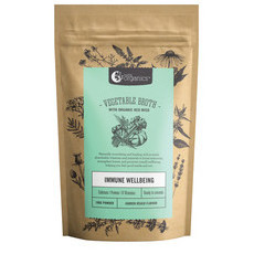 Nutra Organics Vegetable Broth Powder - Garden Veggie