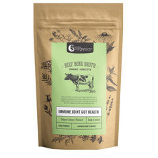 Nutra Organics Beef Bone Broth Powder - Garden Herb