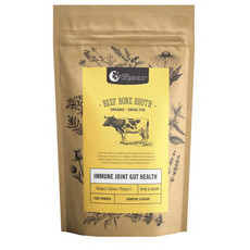 Nutra Organics Beef Bone Broth Powder - Turmeric