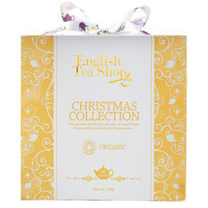 English Tea Shop Organic Festive Collection Gold Cube Gift