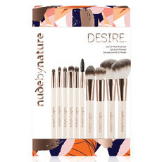 Nude By Nature Desire - Luxe 10 Piece Brush Set