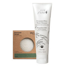 100% Pure Fermented Rice Water Cleanser + FREE KONJAC SPONGE