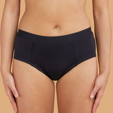 Thinx Cotton Brief - Black
