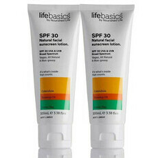 Life Basics SPF 30 All Natural Facial Sunscreen