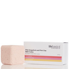 Life Basics Bath Cube Set - Pink Grapefruit