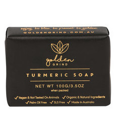 Golden Grind Natural Turmeric Body Soap