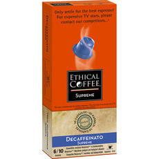 Ethical Coffee Company Capsules Decaffeinato Supreme