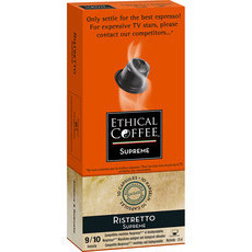 Ethical Coffee Company Capsules Ristretto Supreme