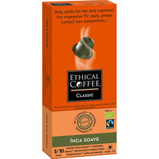 Ethical Coffee Company Capsules Inca Soave Pods (Organic)