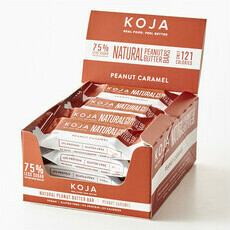 KOJA Natural Peanut Butter Bar - Peanut Caramel