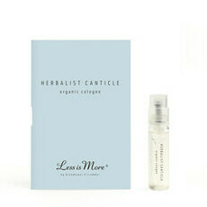 Less is More Organic Cologne - Herbalist Canticle