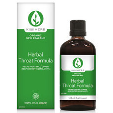 Kiwiherb Herbal Throat Formula