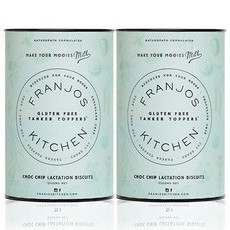 Franjo's Kitchen Tanker Topper Biscuits - Gluten Free Choc Chip (2 Pack)