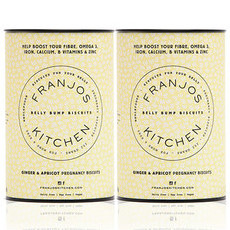 Franjo's Kitchen Belly Bump Biscuits - Ginger & Apricot (2 Pack)