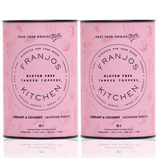 Franjo's Kitchen Tanker Topper Biscuits' Gluten Free Currant & Coco (2 Pack)