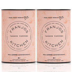 Franjo's Kitchen Tanker Topper Biscuits - Fig & Almond (2 Pack)