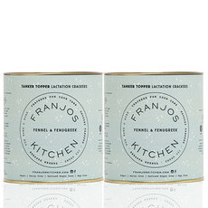 Franjo's Kitchen Tanker Topper Crackers - Fennel & Fenugreek (2 Pack)