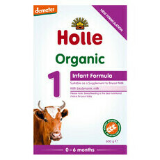 Holle Organic Infant Formula 1 with DHA