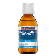 Ethical Nutrients Hi-Strength Liquid Fish Oil