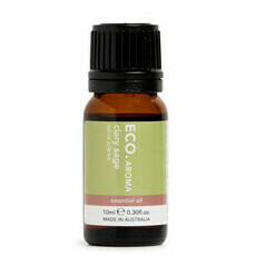 ECO. AROMA Pure Clary Sage Essential Oil