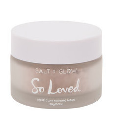 Salt & Glow So Loved Rose Clay Firming Mask