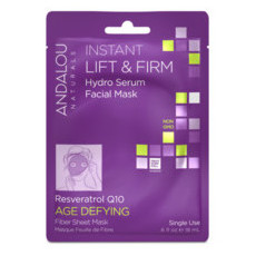 Andalou Naturals Sheet Mask - Instant Lift & Firm (Single Use)