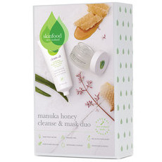 Skinfood Gift Set - Manuka Honey Cleanse & Mask Duo