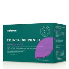 Melrose Essential Nutrients+ Balanced and Lean 30 x 3g Sachets