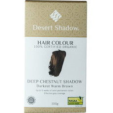 Desert Shadow Organic Hair Dye - Deep Chestnut Shadow