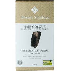 Desert Shadow Organic Hair Dye - Chocolate Shadow