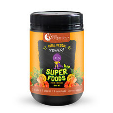 Nutra Organics Kids Vital Veggie Power