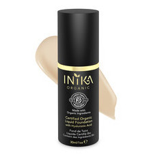 Inika Certified Organic Liquid Mineral Foundation - Nude