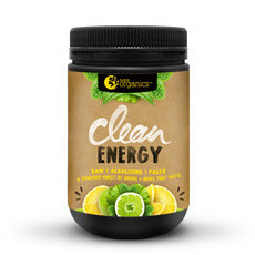 Nutra Organics Clean Energy - Lemon + Lime
