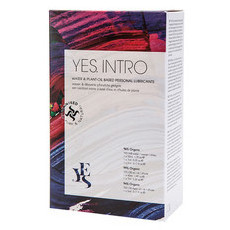 YES INTRO Water Based & Plant-Oil Based Personal Lubricants