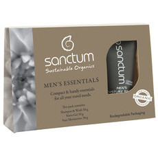 Sanctum Men's Essentials Travel / Trial Pack
