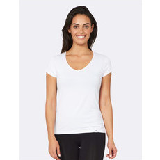 Boody Women's V-Neck T-Shirt - White