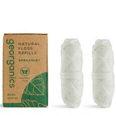 Georganics Natural Floss - Spearmint REFILL PACK
