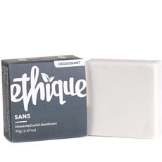 Ethique Solid Deodorant - Sans (Unscented)