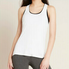 Boody Racerback Active Tank -  White