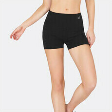 "Boody Active Short Tight 2"" - Black"
