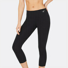 Boody 3/4 Length Active Tights - Black